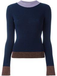 свитер с контрастной окантовкой  See By Chloé