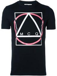 футболка с принтом 'Multi Geo' McQ Alexander McQueen
