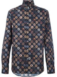 рубашка с принтом мистических элементов Gabriele Pasini