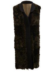 текстурированное пальто без рукавов Drome
