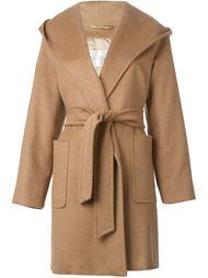 пальто с капюшоном Max Mara