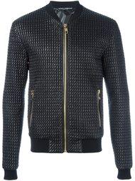 стеганая куртка бомбер Dolce & Gabbana