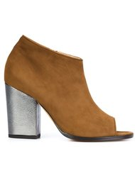 open toe ankle booties Alexa Wagner