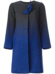 пальто А-образного силуэта Armani Collezioni