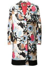 пальто с цветочным узором Etro