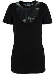 lace panel T-shirt Twin-Set