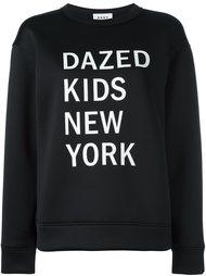 толстовка с графическим принтом DKNY