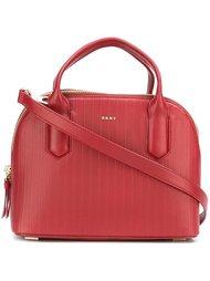 сумка-тоут в полоску DKNY