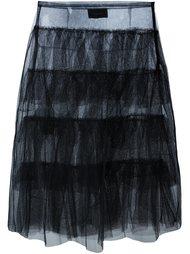 многослойная прозрачная юбка  Simone Rocha