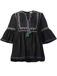 embroidered details tunic Talitha
