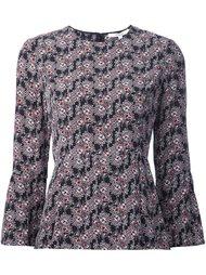 floral print flared blouse Derek Lam 10 Crosby