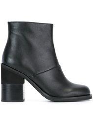 ботинки на массивном каблуке  Jil Sander Navy