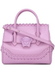 сумка-тоут 'Palazzo Empire' с плетеной отделкой Versace
