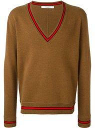 свитер с контрастной окантовкой  Givenchy