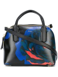 сумка-тоут с принтом розы DKNY