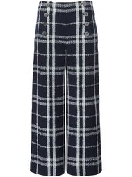 double-buttoned flared cropped trousers Derek Lam 10 Crosby