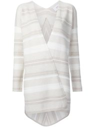 striped open cardigan Derek Lam 10 Crosby