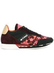 кроссовки с цветочной вышивкой Etro