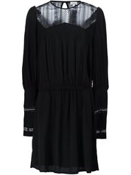 sheer panel dress Talitha