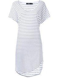 платье-футболка в полоску  Bassike