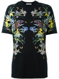 футболка с цветочным принтом  Givenchy
