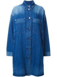 джинсовое пальто Mm6 Maison Margiela