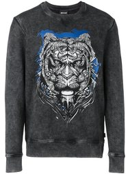 tiger print sweatshirt Just Cavalli
