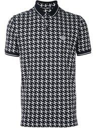 футболка-поло с принтом пистолетов  Dolce & Gabbana