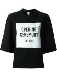 толстовка с принтом логотипа  Opening Ceremony