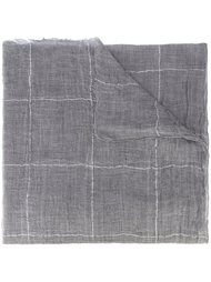 checked scarf Brunello Cucinelli