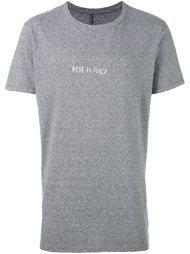 футболка с принтом 'Rest in Peace' Rta