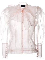 блузка с бантом Simone Rocha