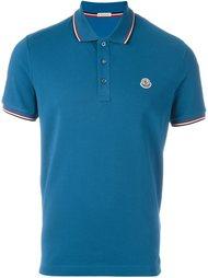 рубашка-поло с логотипом Moncler