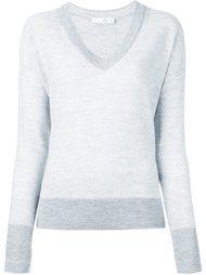 свитер в рубчик с V-образным вырезом Rag & Bone /Jean