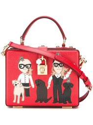 сумка-тоут с характерной заплаткой  'Dolce' Dolce & Gabbana