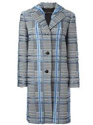 жаккардовое пальто Versace