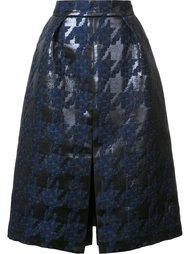 textured skirt Martin Grant