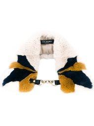 шарф с застежкой на крючок Yves Salomon