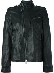 байкерская куртка на молнии Diesel Black Gold