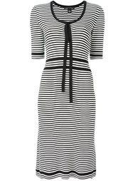 полосатое платье плотной вязки Marc Jacobs