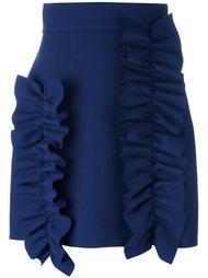 короткая юбка с рюшами MSGM
