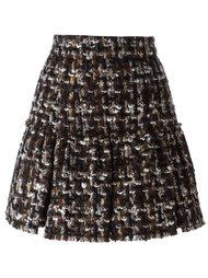 юбка мини из букле Dolce & Gabbana