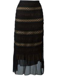 кружевная юбка миди Nº21
