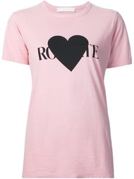 logo print T-shirt Rodarte