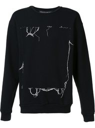stitching detail sweatshirt Enfants Riches Deprimes
