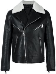 multi-pocket biker jacket Neil Barrett