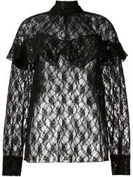sheer lace blouse Awake
