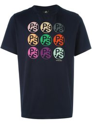 футболка с принтом-логотипом PS Paul Smith