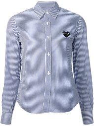 stripped short shirt Comme Des Garçons Play