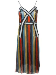 striped dress Marco De Vincenzo